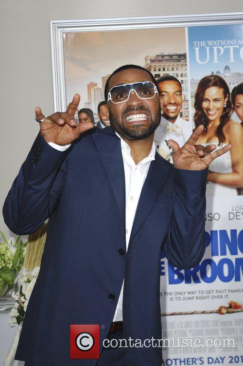 Mike Epps  Los Angeles premiere of 'Jumping...