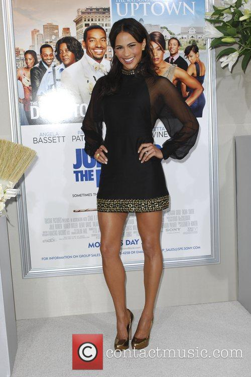 Paula Patton  Los Angeles premiere of 'Jumping...