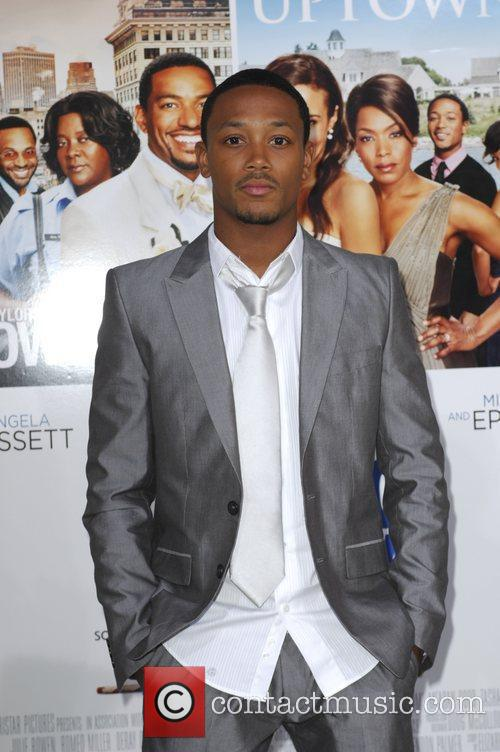 Romeo Miller  Los Angeles premiere of 'Jumping...