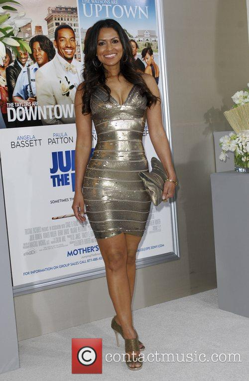 Tracey Edmonds  Los Angeles premiere of 'Jumping...