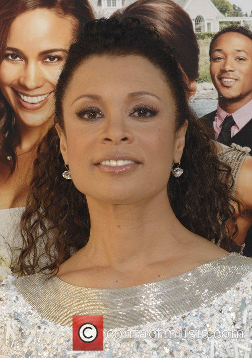 Valarie Pettiford  Los Angeles premiere of 'Jumping...