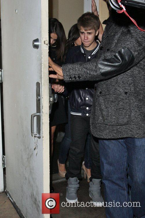 Selena Gomez and her rumored boyfriend Justin Bieber...