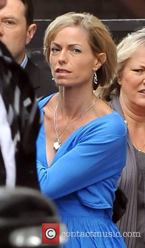 Kate McCann leaving the ITV studios after appearing...