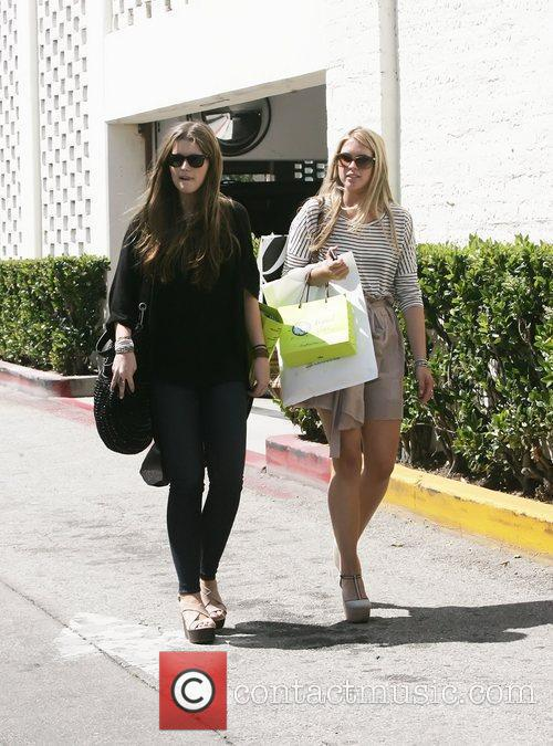 Katherine Schwarzenegger and a friend out and about...