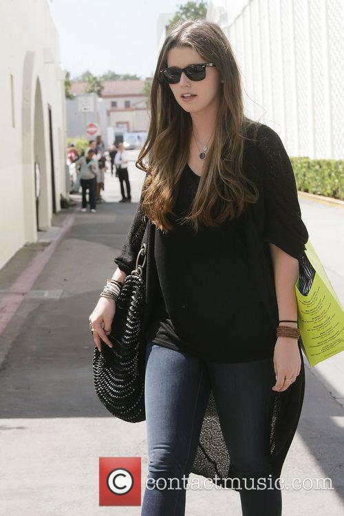 Katherine Schwarzenegger and a out and about beverly...
