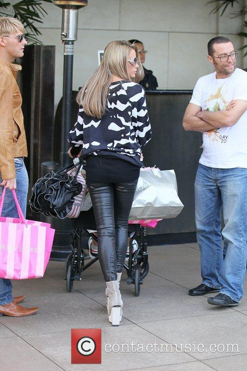 Shopping at The Grove in Hollywood