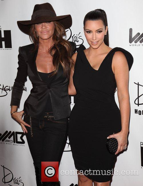 Robin Antin and Kim Kardashian 2