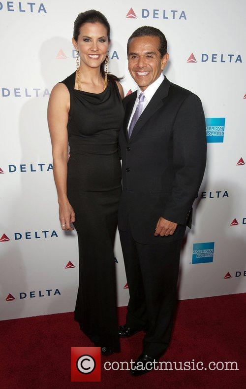 Antonio Villaraigosa and Celebration 9