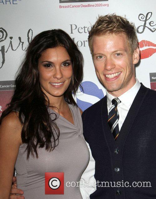 daniela ruah and fiance wwwimgkidcom the image kid
