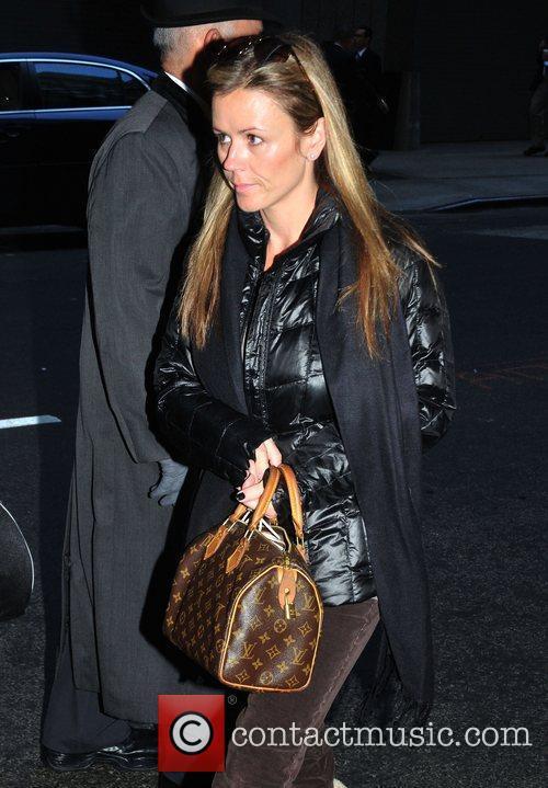Trista Sutter leaving her Manhattan hotel New York...