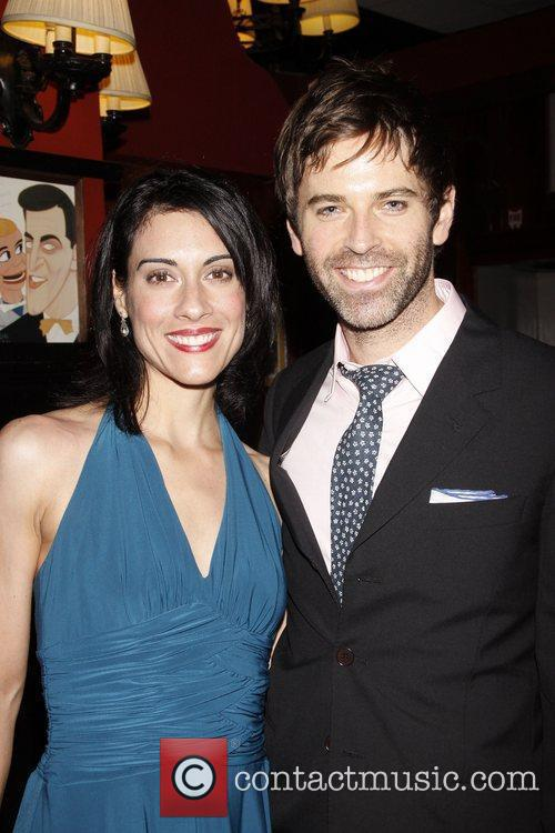 Michele Vazquez and Brendan McMahon Opening night after...