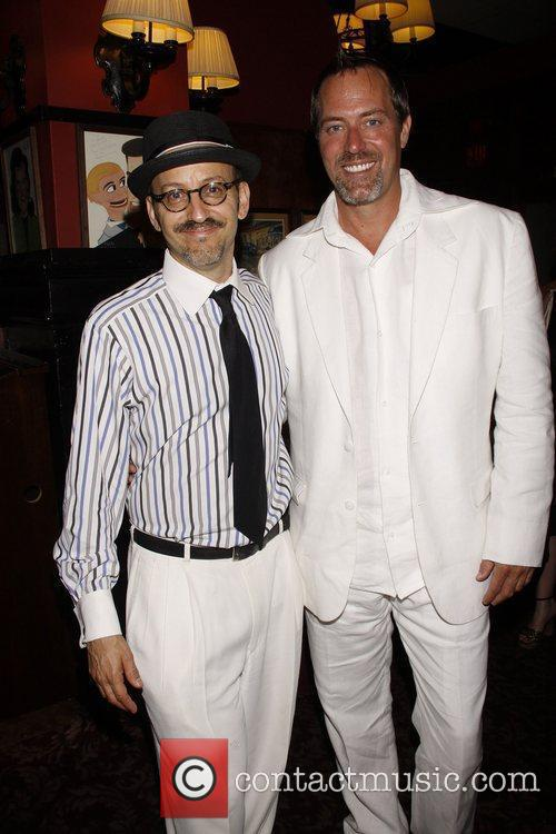 Will Pomerantz and Robert Bogue Opening night after...