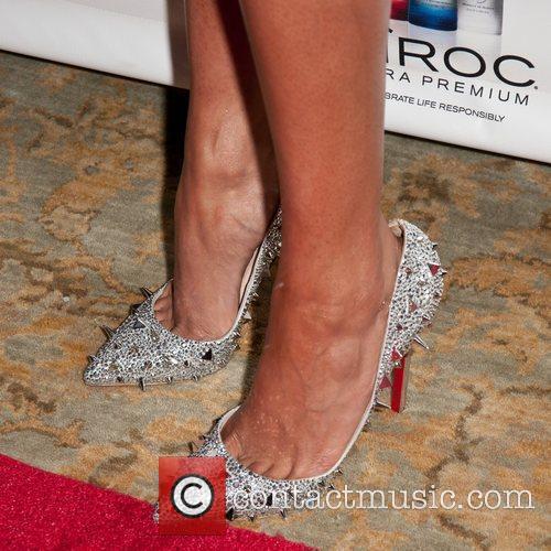 Selita Ebanks - Shoe Detail  Marc Bouwer...