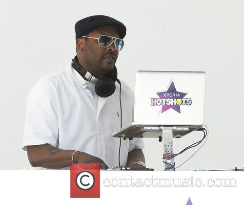 DJ Jazzy Jeff attends the launch of the...