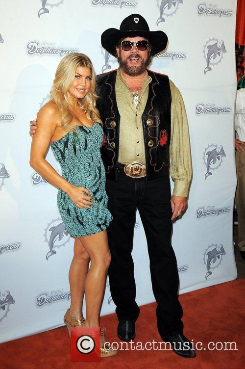 Fergie and Hank Williams Jr 3