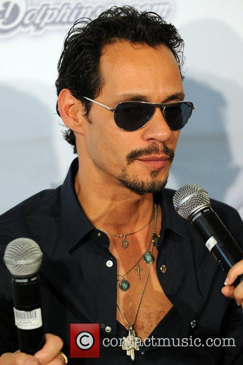 Marc Anthony  The Miami Dolphins vs The...