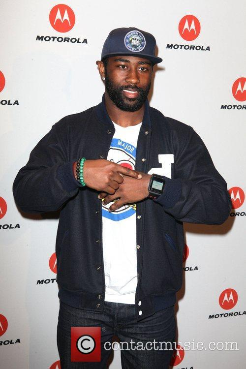 Darrelle Revis  the DROID RAZR by Motorola...