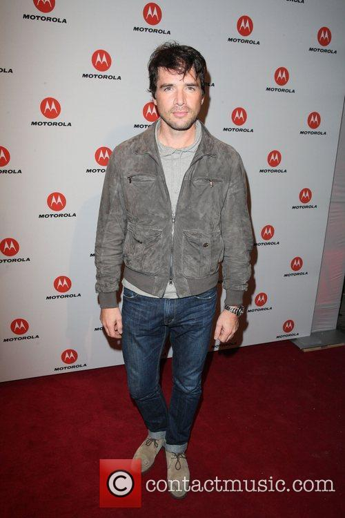 Matthew Settle  the DROID RAZR by Motorola...