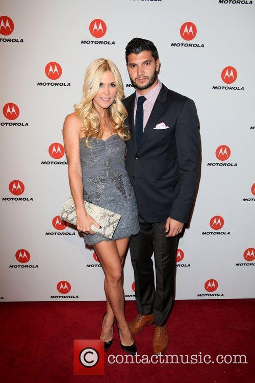 Tinsley Mortimer, Brian Mazza  the DROID RAZR...