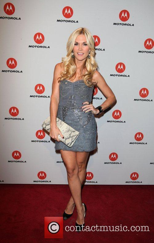 Tinsley Mortimer  the DROID RAZR by Motorola...