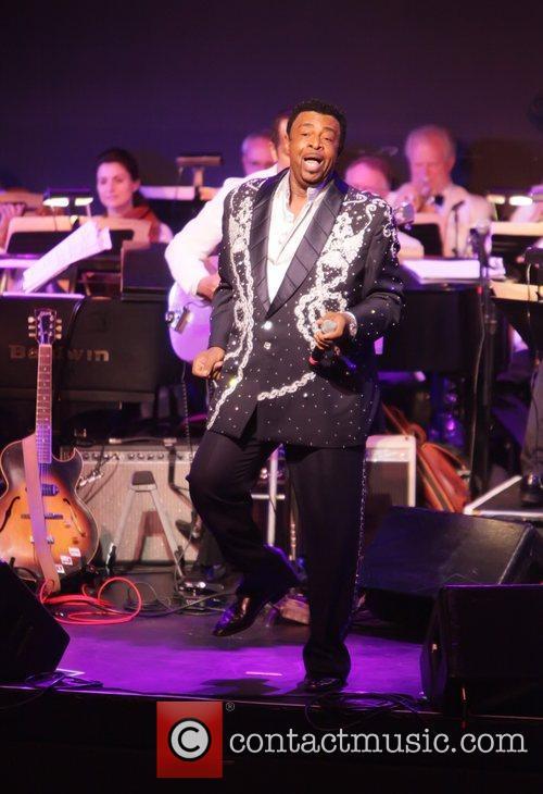 Singer, Dennis Edwards City Parks Foundation presents Summerstage...