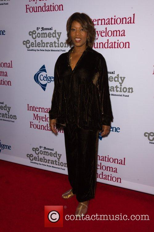 Alfre Woodard  at the International Myeloma Foundation...