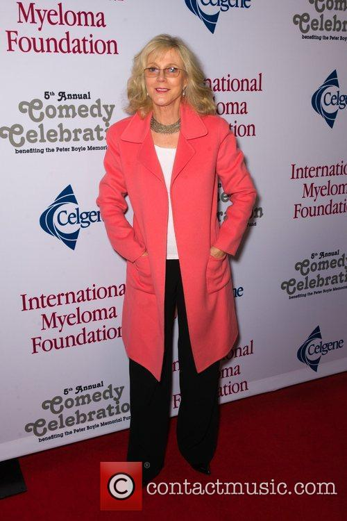 Blythe Danner  at the International Myeloma Foundation...