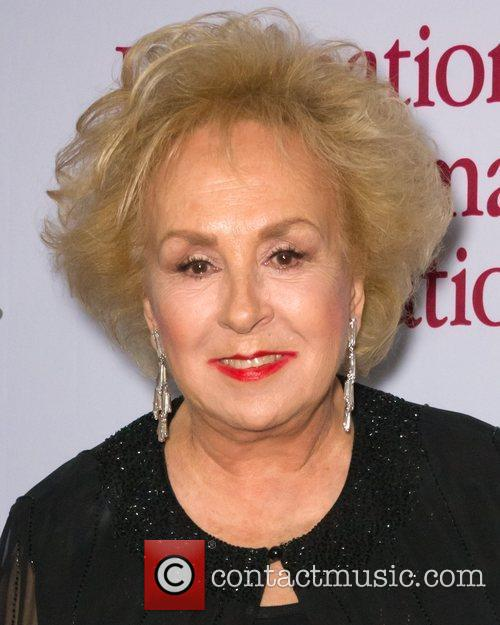 Doris Roberts  at the International Myeloma Foundation...