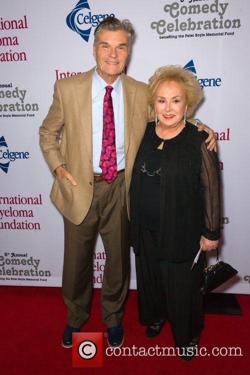 Fred Willard and Doris Roberts  at the...