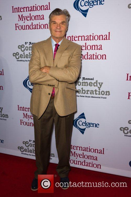 Fred Willard  at the International Myeloma Foundation...