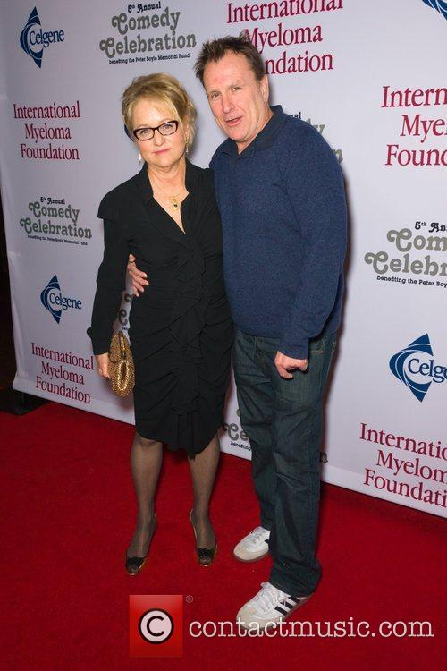 Loraine Boyle and Colin Quinn  at the...