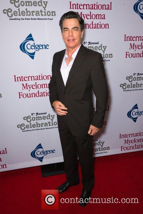 Peter Gallagher  at the International Myeloma Foundation...