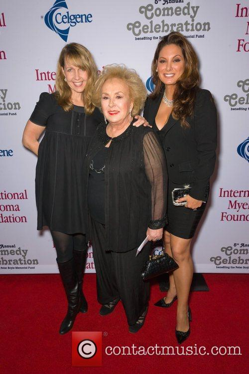 Monica Horan, Doris Roberts and Alex Meneses...