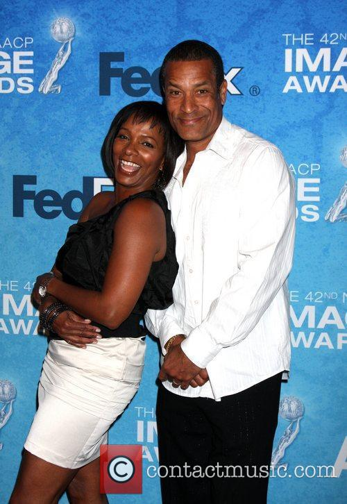 Vanessa Bell Calloway and Phil Morris 1