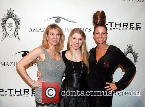 Ramona Singer, Avery Singer and Jill Zarin Mercedes-Benz...