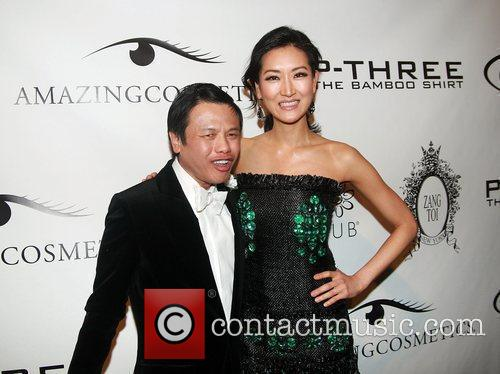 Zang Toi and Kelly Choi Mercedes-Benz IMG New...