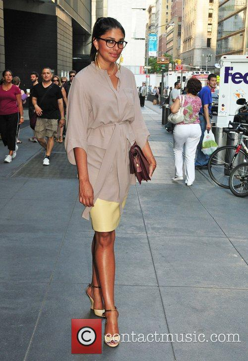 Rachel Roy  out and about in Manhattan...