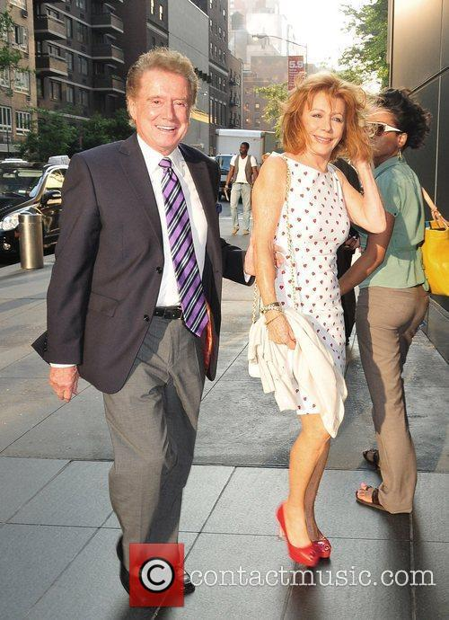 Regis Philbin and Joy Philbin  out and...
