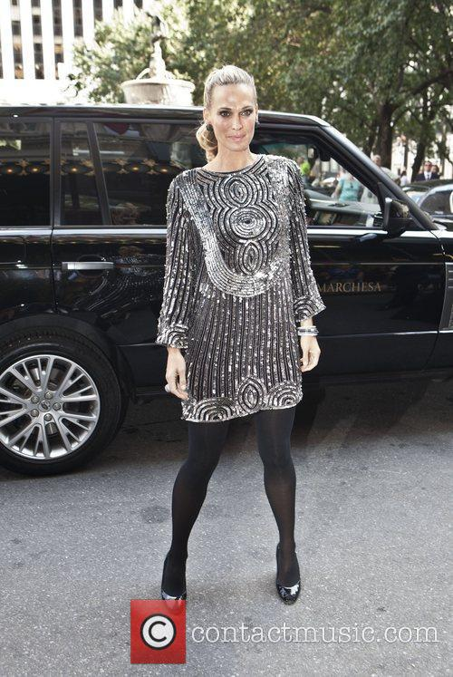 Molly Sims New York Mercedes-Benz Fashion Week Spring...
