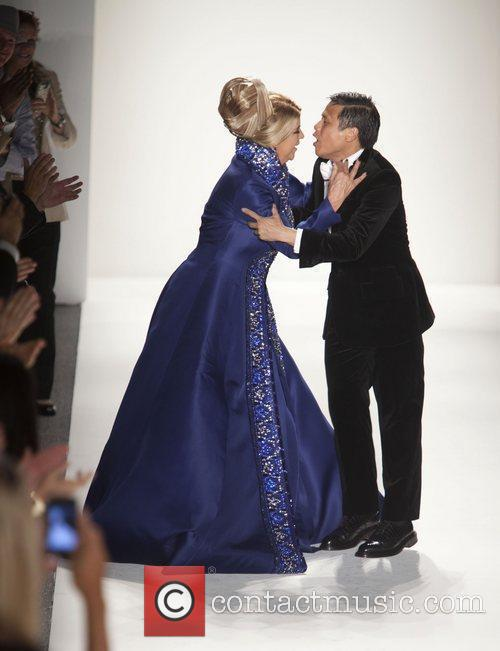 Kirstie Alley and designer Zang Toi New York...