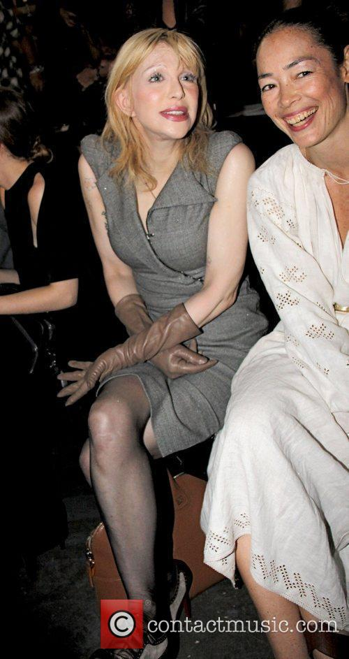 Courtney Love and Cecilia Dean Mercedes-Benz New York...