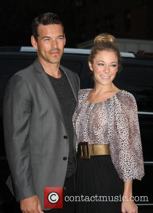 Eddie Cibrian, Leann Rimes, New York Fashion Week