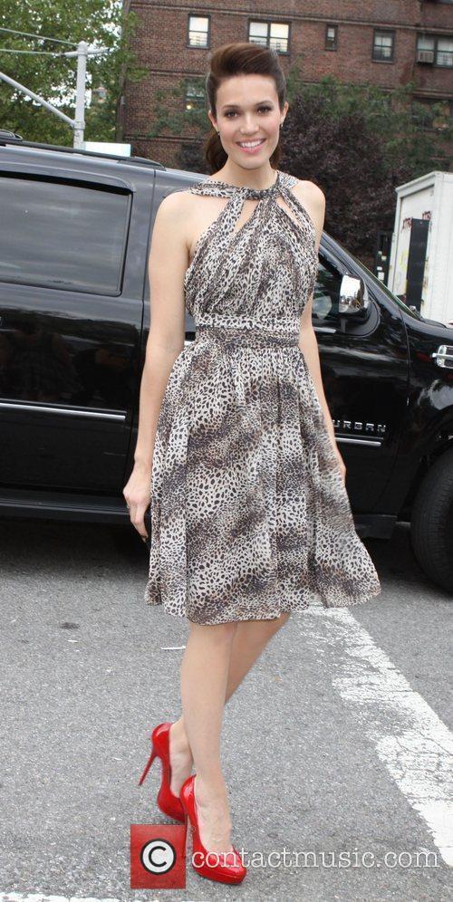 Mandy Moore Mercedes-Benz New York Fashion Week Spring/Summer...