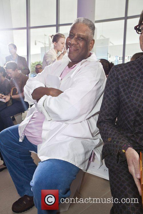 Andre Leon Talley Mercedes-Benz New York Fashion Week...