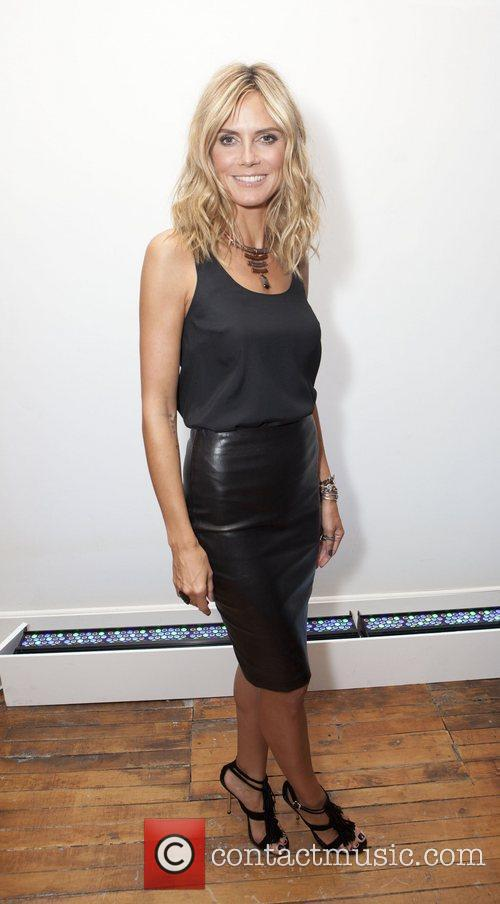 Heidi Klum and New York Fashion Week 7