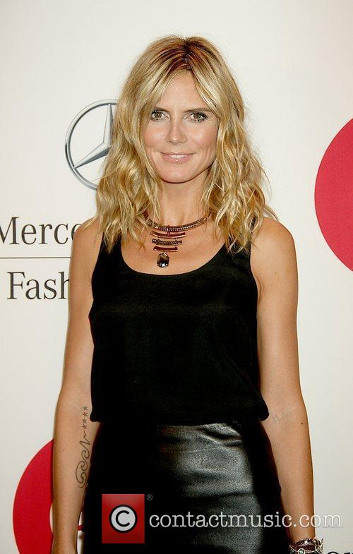 Heidi Klum and New York Fashion Week 2