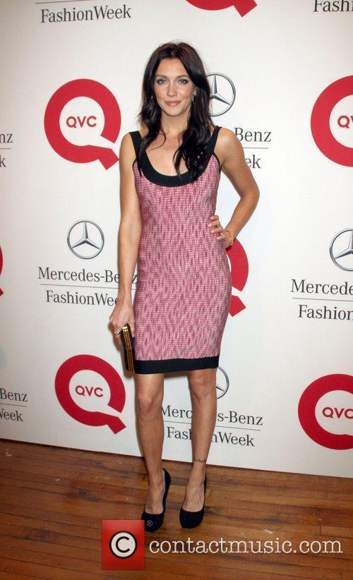 Katie Cassidy  Mercedes-Benz New York Fashion Week...