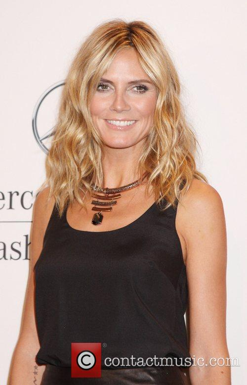 Heidi Klum and New York Fashion Week 8