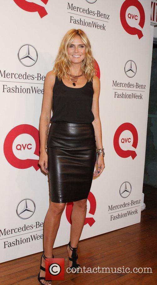 Heidi Klum and New York Fashion Week 1