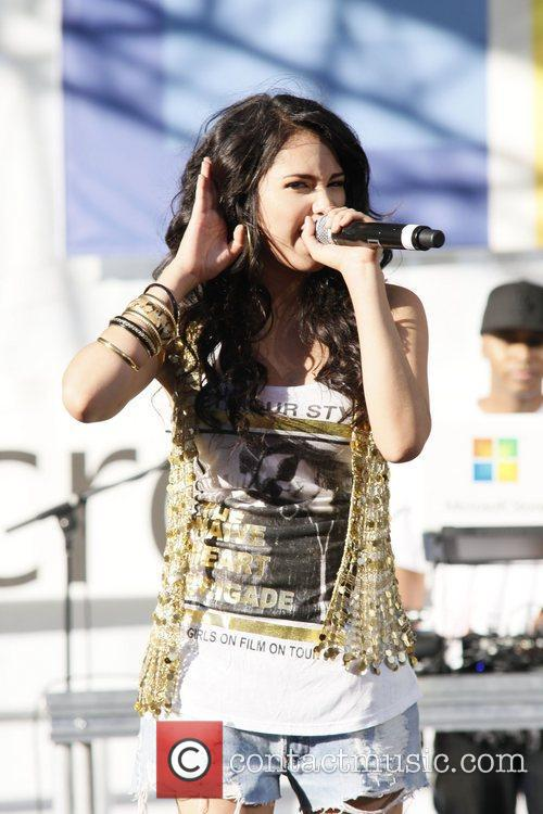 Jasmine V performing as the opening act at...
